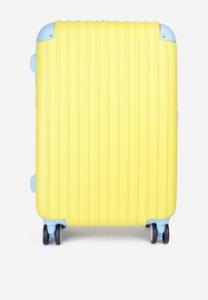 Vali kéo Cavani BK24VA màu vàng phối xanh 24inch