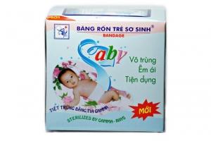 Băng rốn Baby (băng rốn xanh) 3 miếng /hộp
