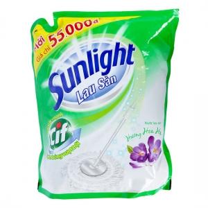 Nước lau sàn Sunlight hương Hoa Hạ túi 2.6kg