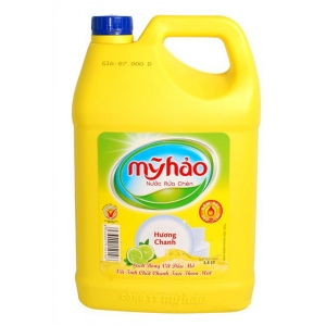 Nước rửa chén Mỹ Hảo hương Chanh - chai 1.6 lit