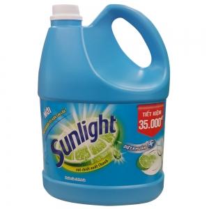 Nước Rửa Chén Sunlight Diệt Khuẩn - chai 3.8kg