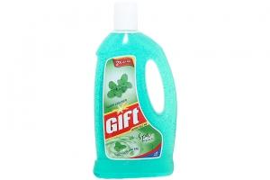 Nước lau sàn Gift hương Bạc Hà chai 1 lít