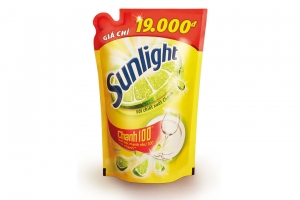 Nước rửa chén Sunlight hương Chanh túi 750g
