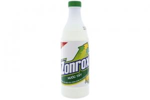 Nước tẩy quần áo Zonrox hương chanh tươi 500ml