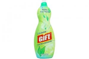 Nước rửa chén Gift hương Trà Chanh chai 800g