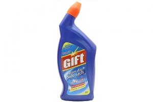 Nước tẩy bồn cầu Gift đậm đặc siêu sạch 600ml