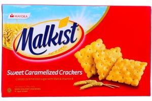 Bánh quy phủ đường Malkist 216g (4 gói)