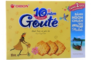 Bánh quy mè Gouté 288g (8 gói)