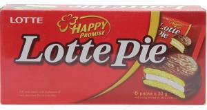 Bánh Lotte Pie 180g (6 cái)