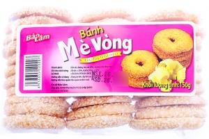 Bánh quy vòng mè Bảo Lâm 150g