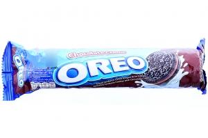 Bánh quy socola kem socola Oreo 133g