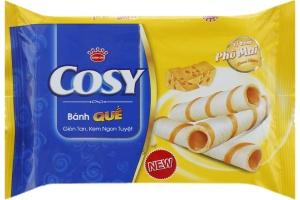 Bánh quế Cosy nhân kem phô mai 54g