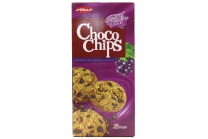 Bánh quy hạt socola nho Choco Chips 144g