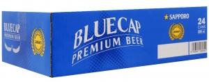 Bia Sapporo Blue Cap lon 330ml (Thùng 24 lon)
