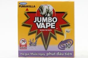Nhang trừ muỗi Jumbo Vape M1 Lavender 10 khoanh