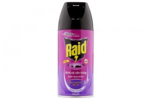Bình xịt côn trùng Raid hương Lavender 300ml