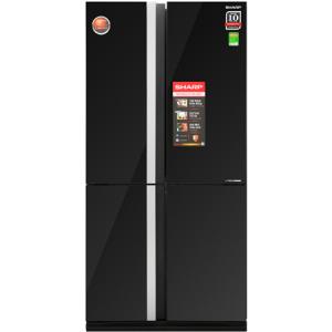 Tủ Lạnh SHARP Inverter 678 Lít SJ-FX688VG-BK (Loại O2B-1)