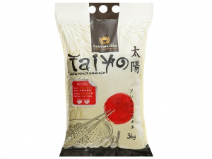 Gạo giống Nhật Bản Vinh Hiển Taiyo túi 5kg