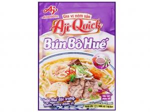 Gia vị nêm sẵn nấu bún bò Huế Aji-Quick gói 59g