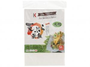 Giấy thấm dầu 22 x 30.9cm Kokusai (50 tờ)