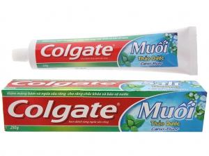 Kem đánh răng Colgate muối thảo dược Canxi + Flour 250g