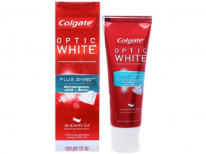 Kem đánh răng Colgate Optic White Plus Shine 100g