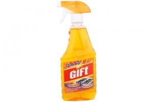 Nước lau bếp Gift tinh dầu Cam 520ml