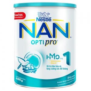 Sữa Nan Optipro 1 400g, HMO (0-6 tháng)