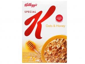 Ngũ cốc Kellogg's Special K yến mạch và mật ong hộp 385g
