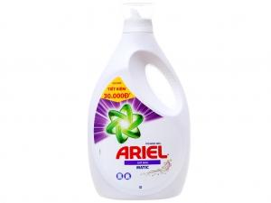 Nước giặt Ariel Matic giữ màu chai 2.3 lít