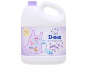 Nước giặt cho bé D-nee Yellow Moon tím chống ẩm mốc can 3 lít