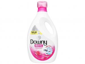 Nước giặt Downy Matic vườn hoa thơm ngát chai 2.3 lít