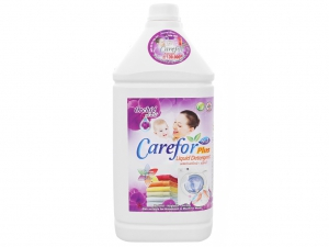 Nước giặt xả cho bé Carefor Plus hương hoa lan chai 3.5 lít