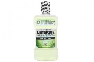 Nước súc miệng ngừa sâu răng Listerine trà xanh 500ml