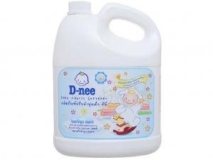 Nước xả cho bé D-nee trắng can 3 lít