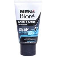 Sữa rửa mặt Biore Men tác động kép Sạch sâu, mát lạnh 50g