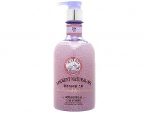 Sữa tắm hạt ON THE BODY Veilment Spa Lavender 600g