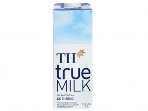 Sữa tươi tiệt trùng có đường TH true MILK hộp 1 lít