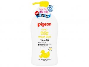Tắm gội toàn thân cho bé Pigeon hoa hướng dương 700ml