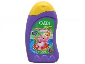 Tắm gội toàn thân cho bé Carrie Junior hương Grapeberry 280ml