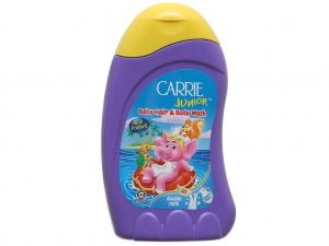 Tắm gội toàn thân cho bé Carrie Junior tinh chất sữa 280ml