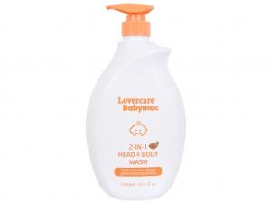 Tắm gội toàn thân cho bé Lovercare Babymac 1 lít