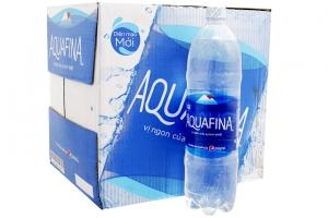 Nước tinh khiết Aquafina chai 1.5 lít (thùng 12 chai)