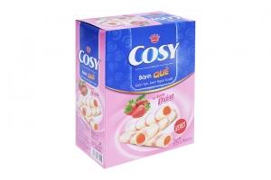 Bánh quế Cosy kem Dâu hộp 180g