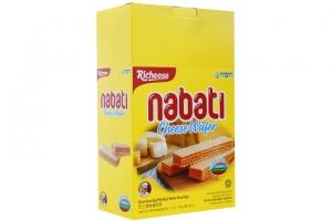 Bánh xốp Nabati Kem Phô Mai gói 170g