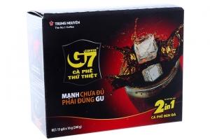 Cà phê G7 2 trong 1 gói 16g (hộp 15 gói)