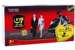 Cà phê sữa G7 3 trong 1 gói 16g (hộp 21 gói)