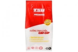 Đường cát trắng tinh luyện cao cấp TSU gói 1kg