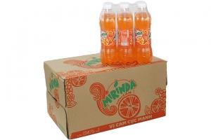 Nước ngọt Mirinda hương cam chai 390ml (thùng 24 chai)