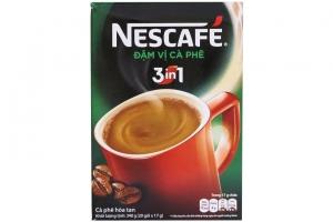 Cà phê sữa Nescafe 3 trong 1 đậm vị gói 17g ( hộp 20 gói)